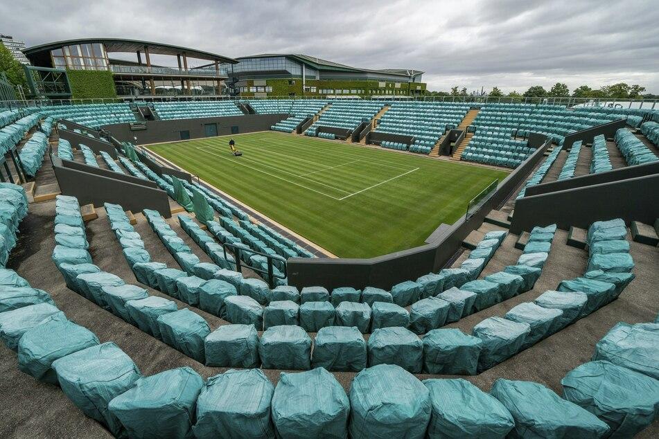 Das berühmte Tennisturnier Wimbledon wurde 2020 abgesagt, 2021 könnte es womöglich ohne Zuschauer stattfinden.