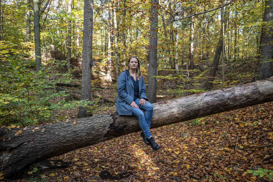 Christin Furtenbacher (35, Grüne) kann sich einen Bestattungswald in und um Chemnitz gut vorstellen.