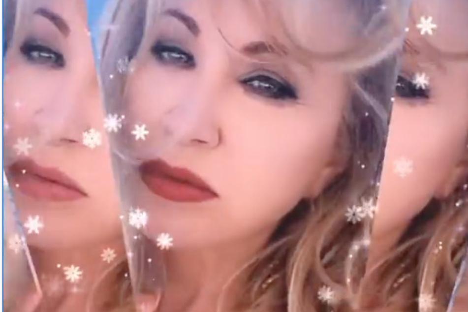 Carmen Geiss (56) spielte mit einigen Digital-Filtern rum.