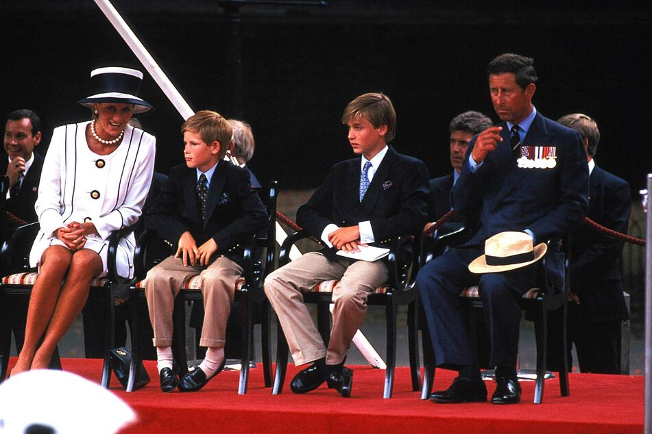 Lady Diana (l.) loved her sons dearly.