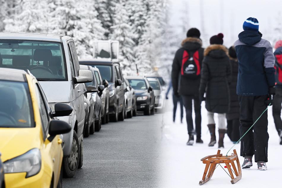 Verkehrschaos im Harz: Touristen legen Bundesstraße lahm, Polizei resigniert