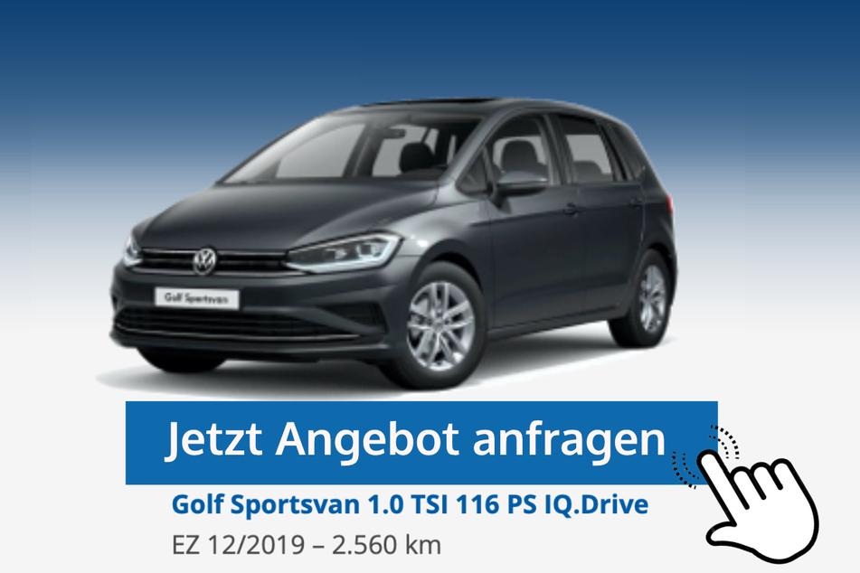 Golf Sportsvan (1.0 TSI 116 PS IQ.Drive) für 19.390 Euro bzw. 189 Euro/Monat*