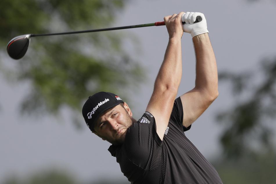 Lässig: Jon Rahm (26) sorgte in Augusta für einen spektakulären Hingucker.