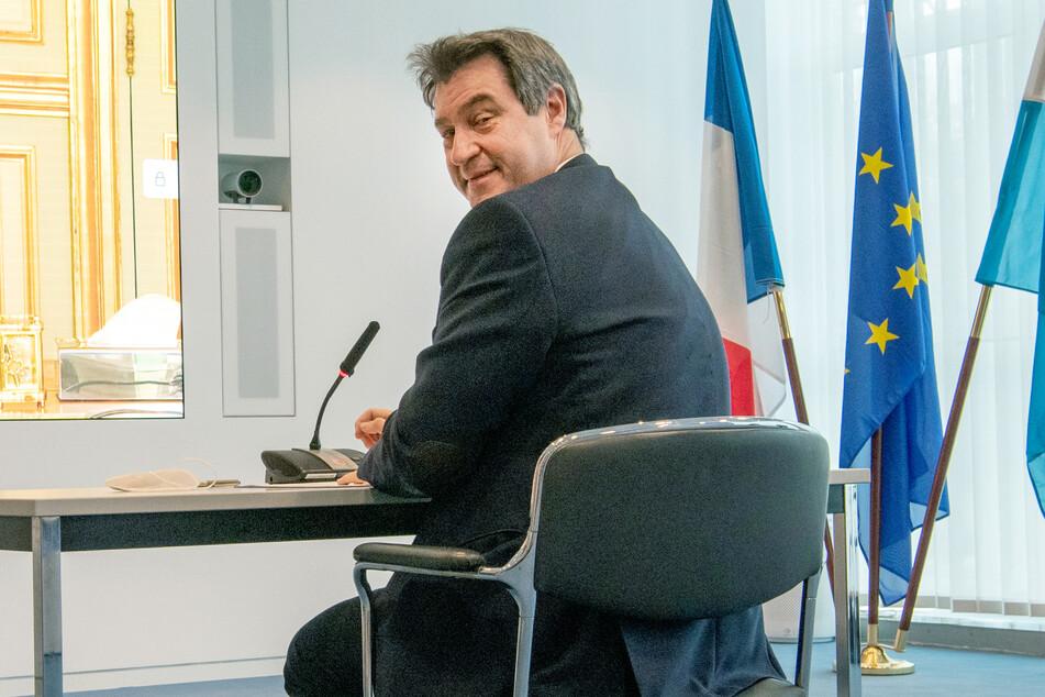 Bayerns Ministerpräsident Markus Söder (54, CSU).