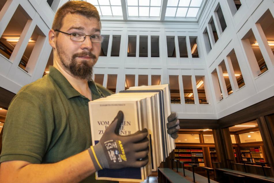 Chemnitz: Bei Chemnitz' größtem Umzug müssen 1,2 Mio Bücher an einen neuen Platz