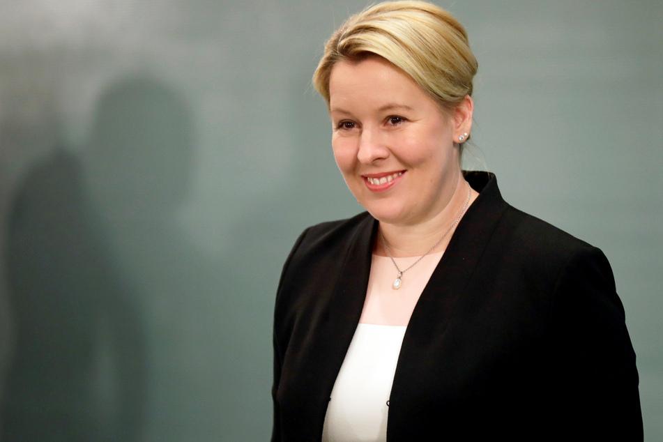 Franziska Giffey (SPD), Bundesministerin für Familie, Senioren, Frauen und Jugend, Bundesministerin für Ernährung und Landwirtschaft, nimmt an der wöchentlichen Kabinettssitzung im Bundeskanzleramt teil.