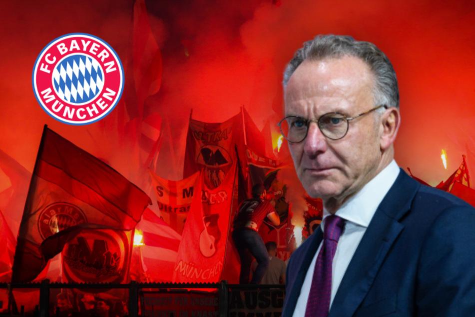 Polizei-Einsatz beim FC Bayern wegen Hass-Aktion gegen Rummenigge