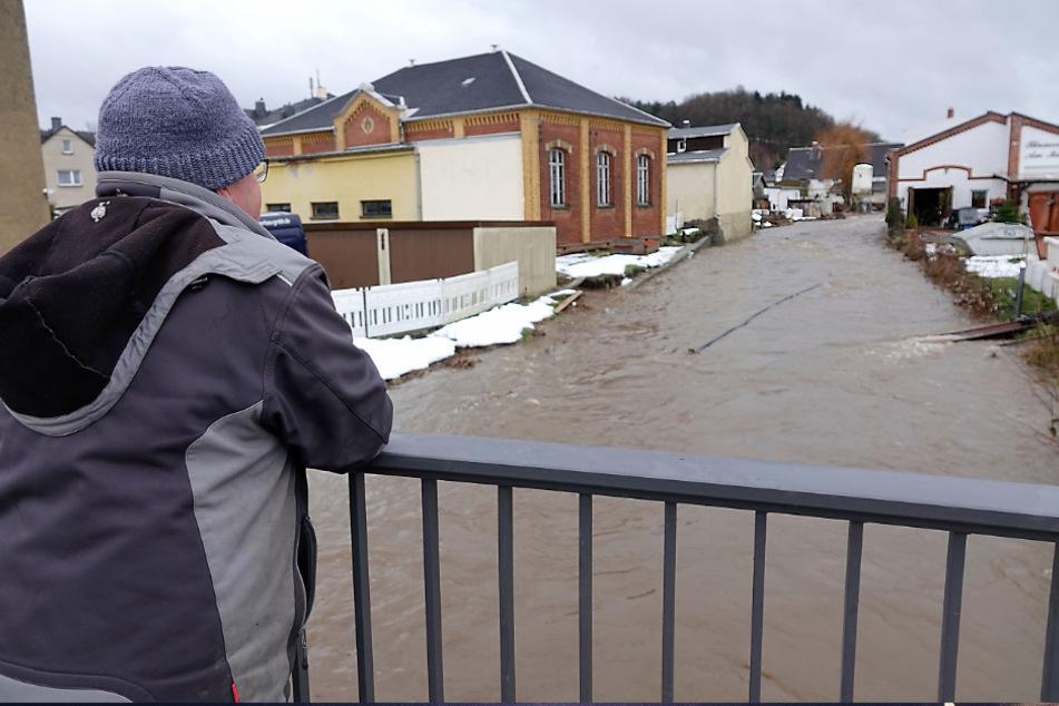 Warnstufe drei! Hochwasser-Alarm in Sachsen