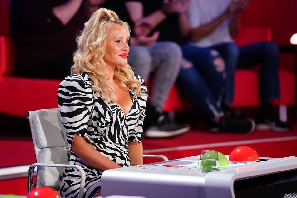 """Evelyn Burdecki (32) sitzt in der """"Supertalent""""-Jury 2020."""