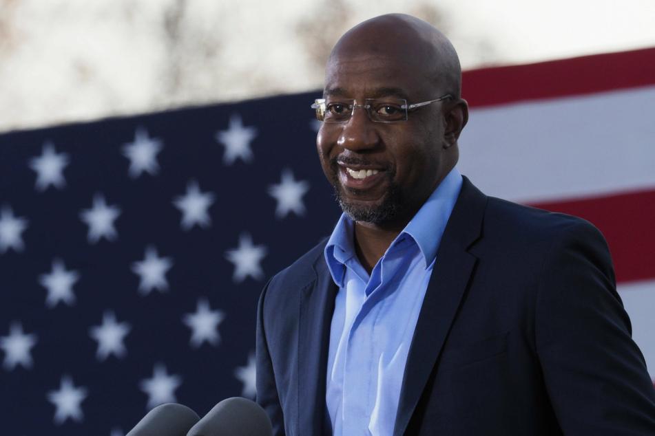 Democrat Raphael Warnock is set to become the firs Black senator from Georgia.