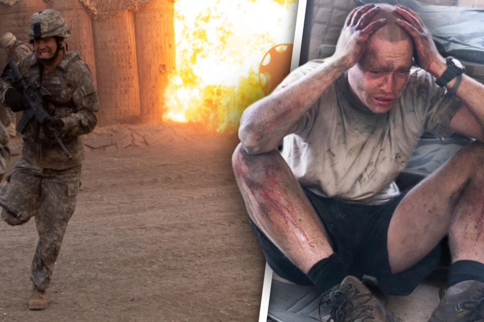 Nicht nur Ty Carter (Caleb Landry Jones) muss in den Gefechten und anschließend bei der Trauer um die gefallenen Kameraden viel ertragen und verarbeiten.