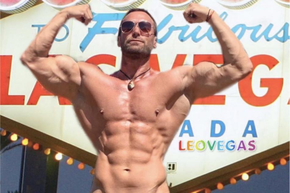 Noch lässt Bastian Yotta (43) auf Instagram die Muskeln spielen.