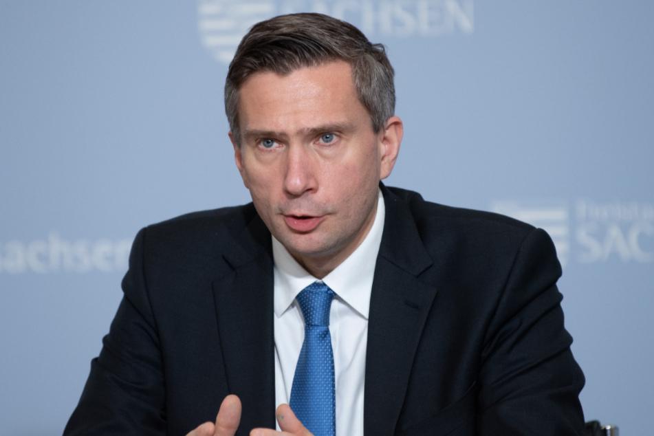 Sachsens Wirtschaftsminister Martin Dulig (46, SPD).