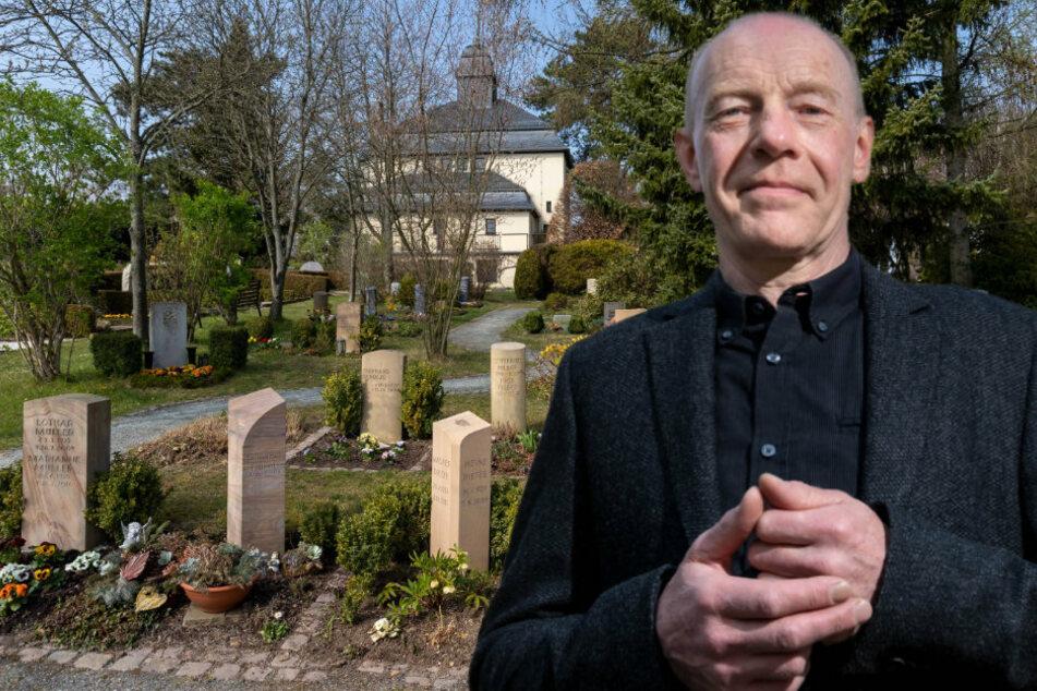 Chemnitz: Chemnitzer Pfarrer berichtete: So laufen Bestattungen in Corona-Zeiten