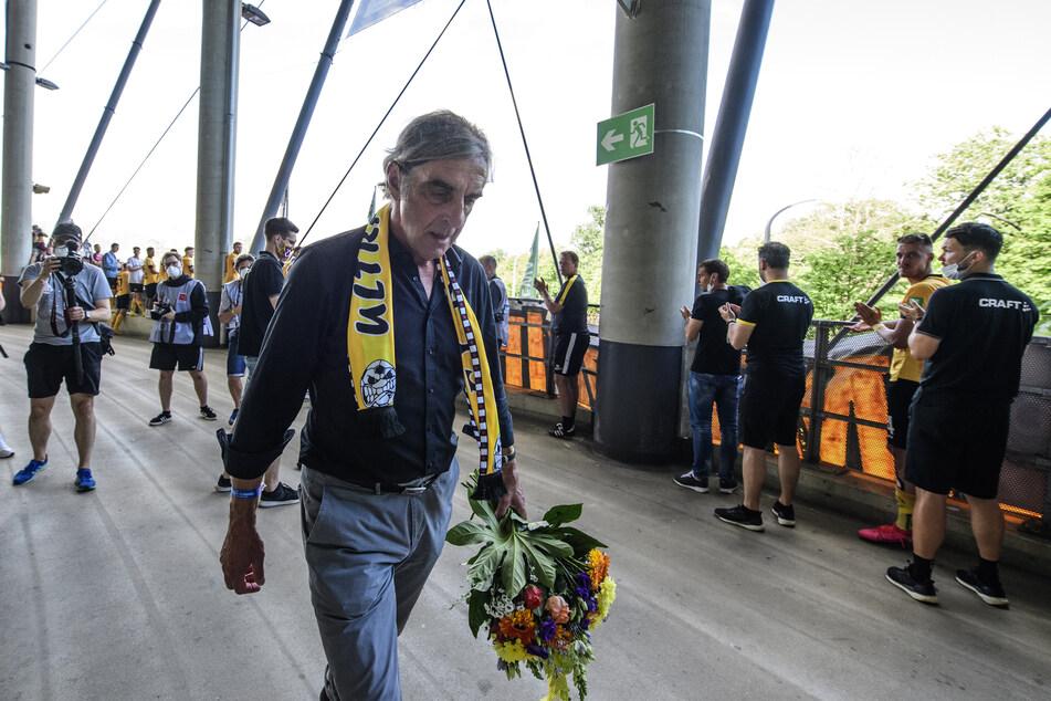 Auch Ralf Minge verabschiedete sich von den Fans.