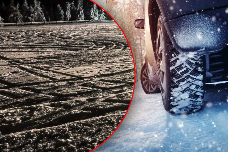 Erzgebirge: Mann (34) driftet mit Jeep auf Feld und kassiert mehrere Anzeigen