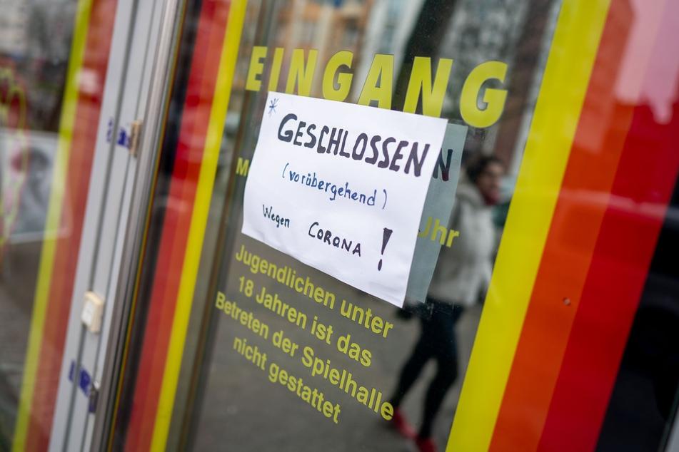 Während des Lockdowns sind die Spielhallen in Deutschland vorübergehend dicht.