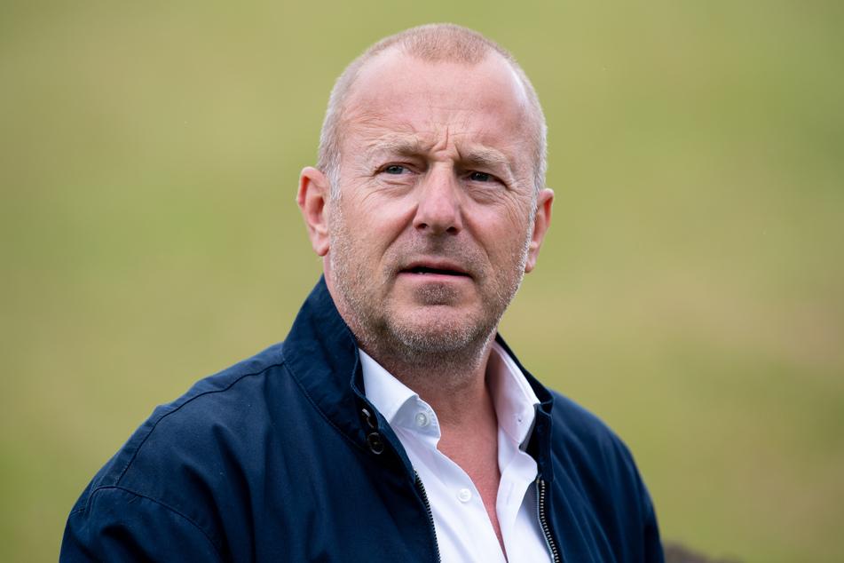 Heino Ferch (57), Schauspieler, aufgenommen bei einem Pressetermin auf der Circus Krone Farm.