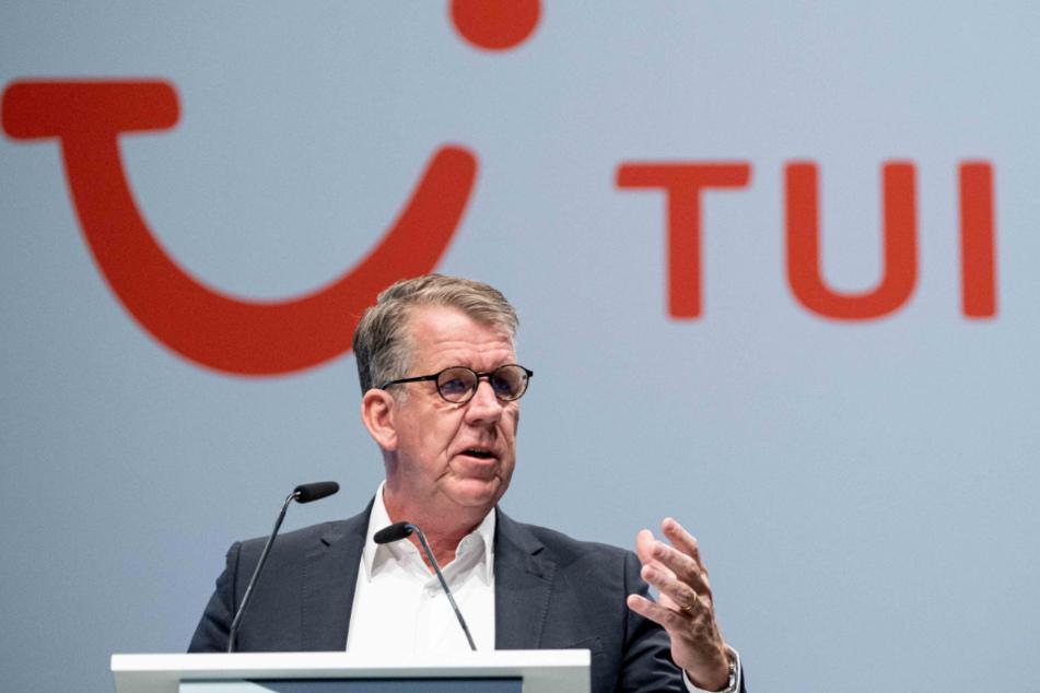 Tui-Vorstandschef Fritz Joussen verkündet einen Jobaubbau. (Archivbild)