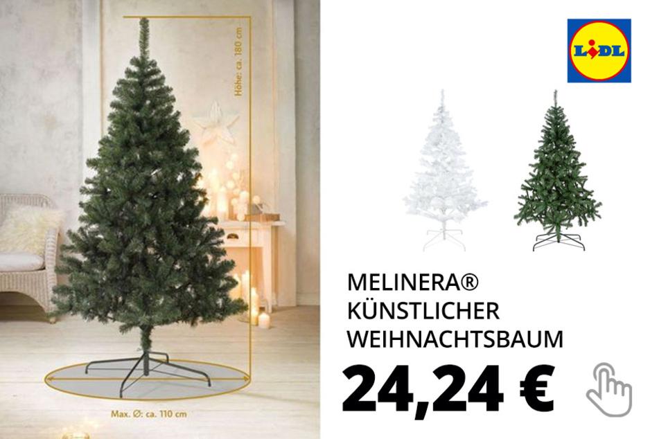 MELINERA® Künstlicher Weihnachtsbaum