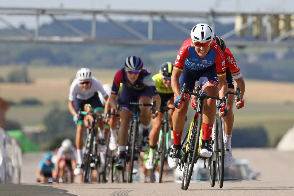 Am Sonntag fanden auf dem Sachsenring die Deutschen Meisterschaften im Straßenradfahren statt.