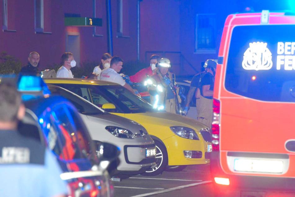 Ein Mann wurde dabei offenbar lebensgefährlich verletzt.