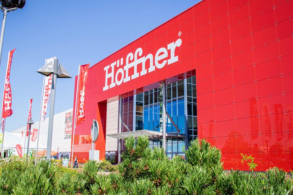 Höffner lässt bis Dienstag (6.10.) in Deutschland eine krasse Aktion laufen
