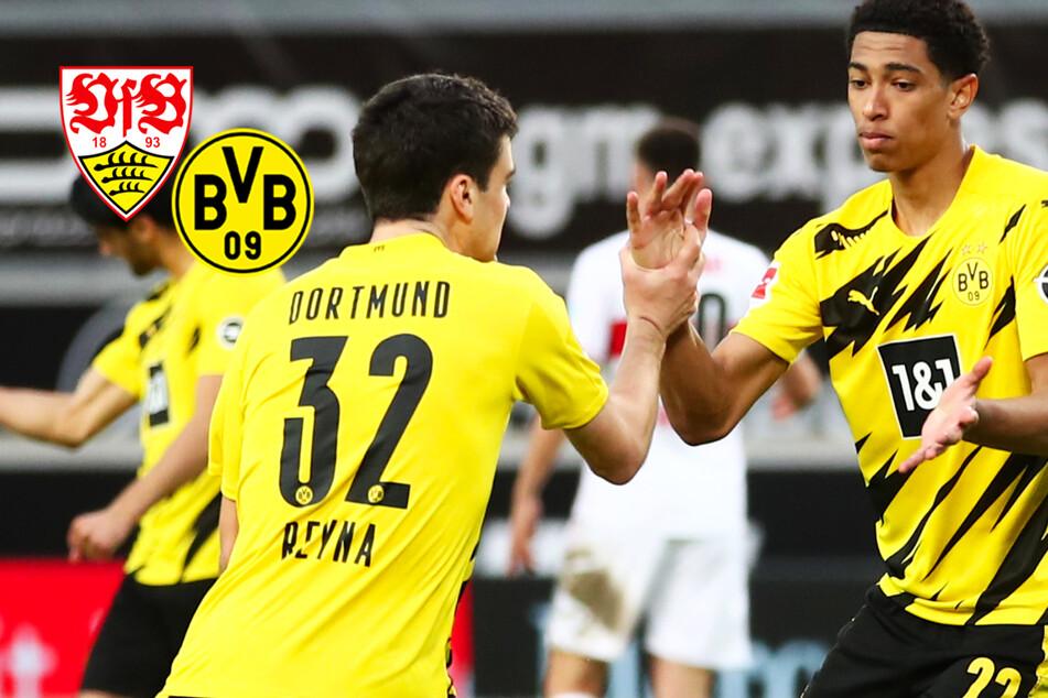 BVB kontert Rückstand gegen VfB und bewahrt sich Mini-Chance auf die Champions League!
