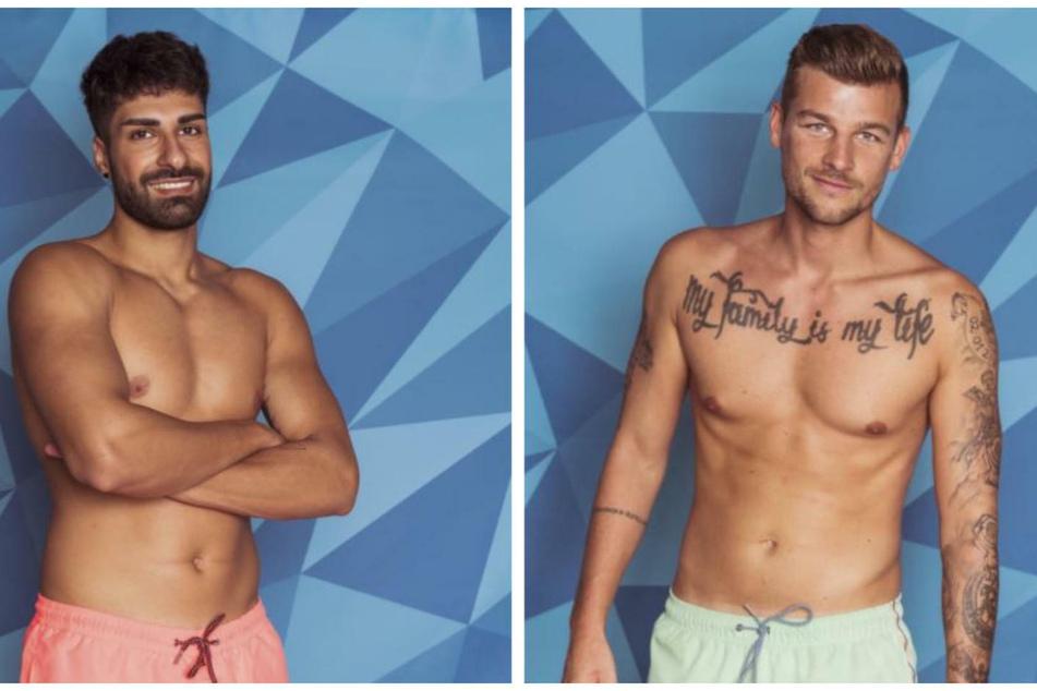 """Murat (24, l) und Kevin (27) sind die neuen """"Granaten"""" auf """"Love Island""""."""