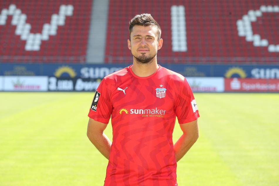 FSV-Spieler Davy Frick (31) fehlte zum Trainingsauftakt.