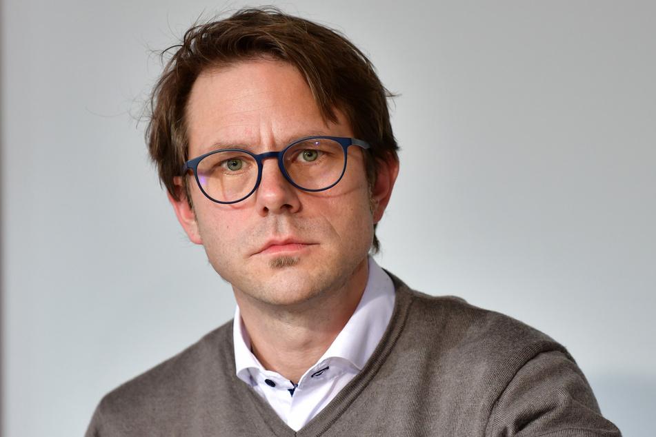 Michael Rudolph, Vorsitzender des DGB Bezirks Hessen-Thüringen.