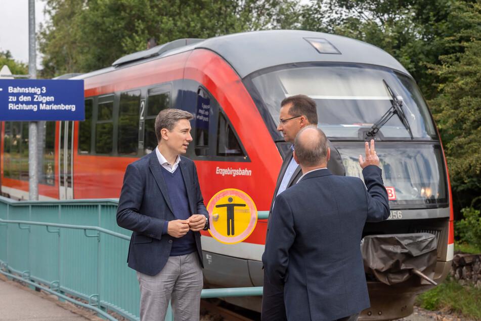 Diskussion zur Reaktivierung alter Bahnstrecken. Politiker setzen auf Industrie und Tourismus.