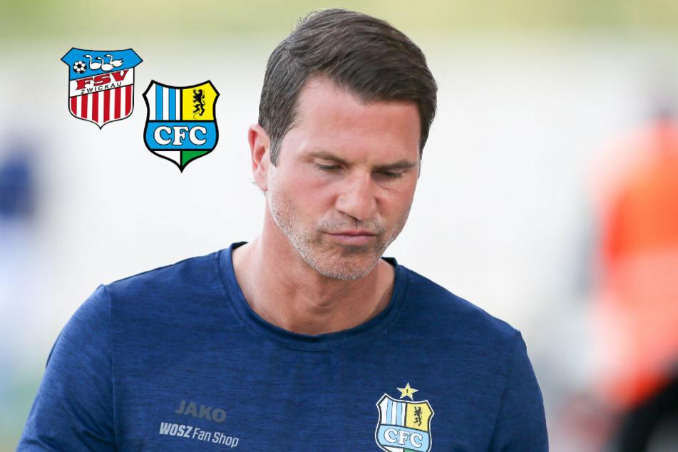 CFC-Coach Glöckner: Lob für den FSV, Kritik für die eigene Mannschaft