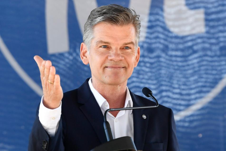 KSC-Präsident Ingo Wellenreuther.