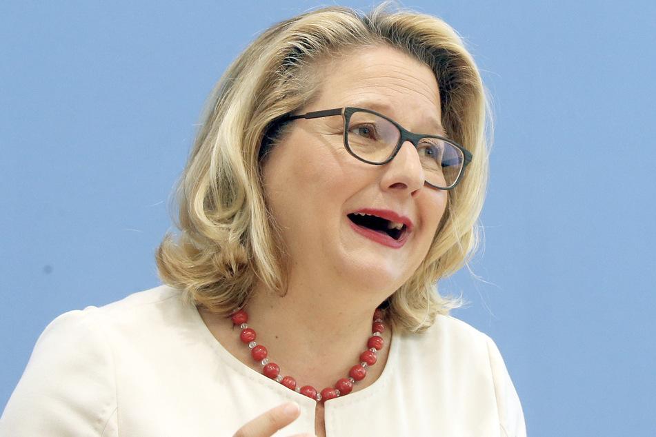 Bundesumweltministerin Svenja Schulze (51). (Archivbild)