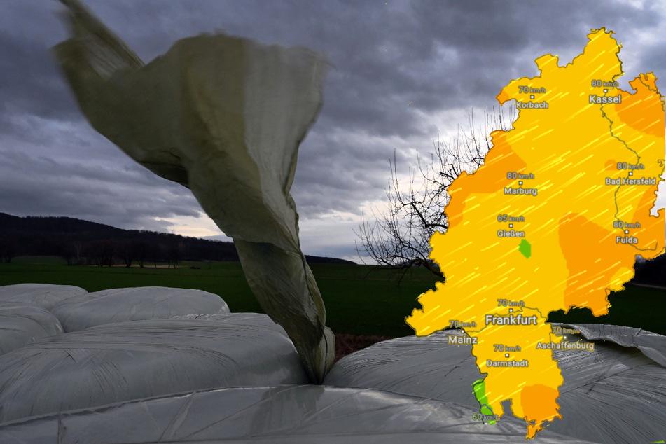 Wetter in Hessen: Der erste Herbststurm kommt!