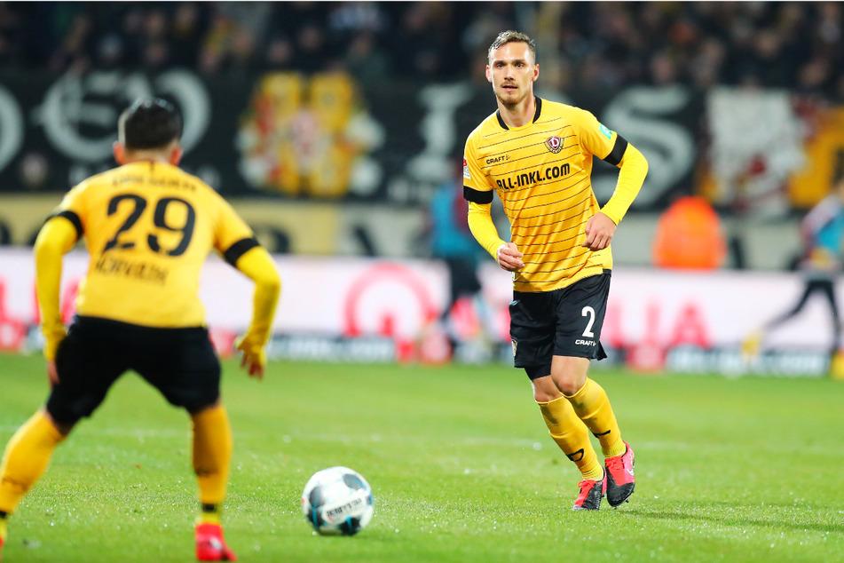 Linus Wahlqvist (24, r.) absolvierte für Dynamo Dresden 55 Spiele. Ein Tor gelang dem Verteidiger dabei nicht, dafür aber fünf Vorlagen.