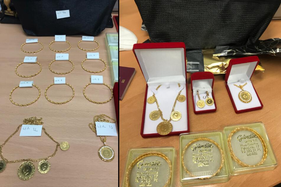 Zoll entdeckt teuren Goldschmuck bei Zufallskontrolle