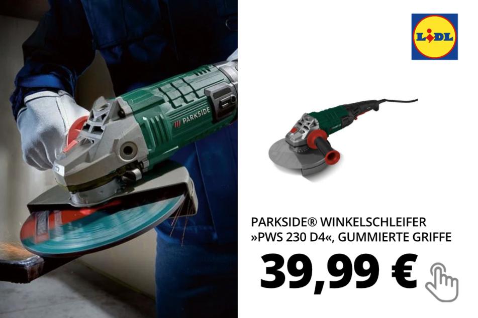 PARKSIDE® Winkelschleifer »PWS 230 D4«