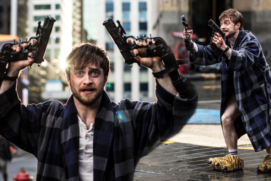 """Miles Lee Harris (Daniel Radcliffe) gerät durch einen Fehler in den Fokus der illegalen Organisation """"Skizm"""" und muss im wahrsten Sinne des Wortes um sein Leben kämpfen."""