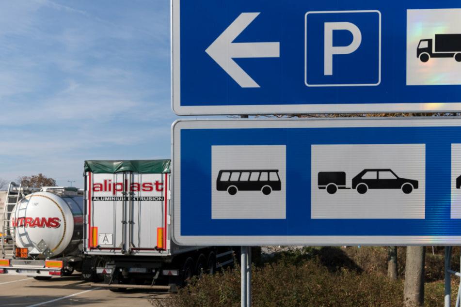 Chemnitz: Vollsperrung! A4-Parkplatz wird saniert