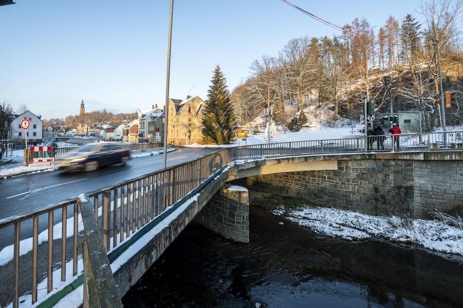 Die Brücke Klaffenbacher Straße erhält für 2 Millionen Euro einen Ersatzneubau.