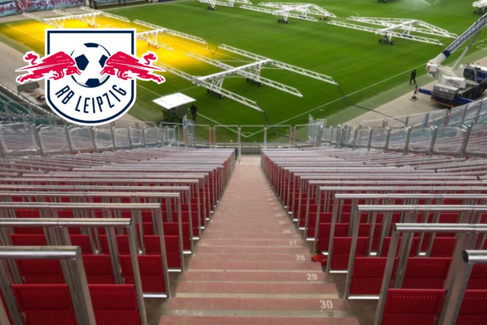 RB Leipzig mitten im Stadionumbau: Was passiert mit den bisherigen Sitzplätzen?