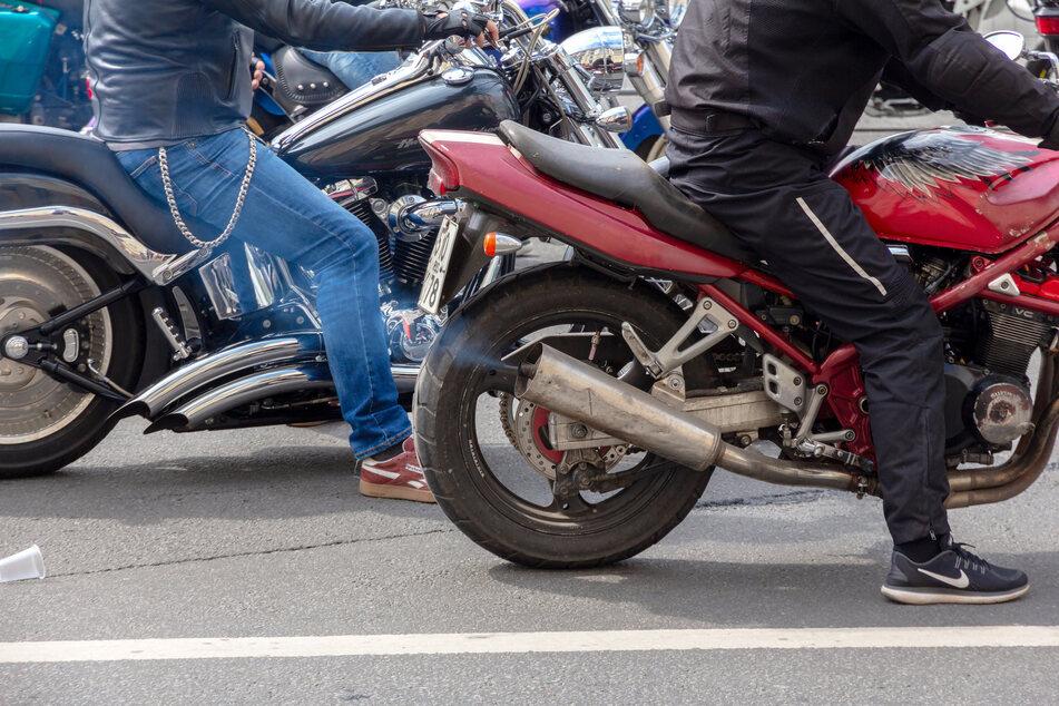 Der Motorradlärm nimmt mit dem Anstieg der Temperaturen zu. (Symbolfoto)