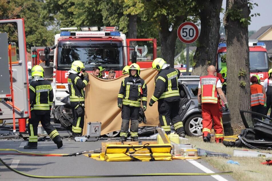Auf der B109 hat es am Sonntag einen schweren Unfall gegeben.