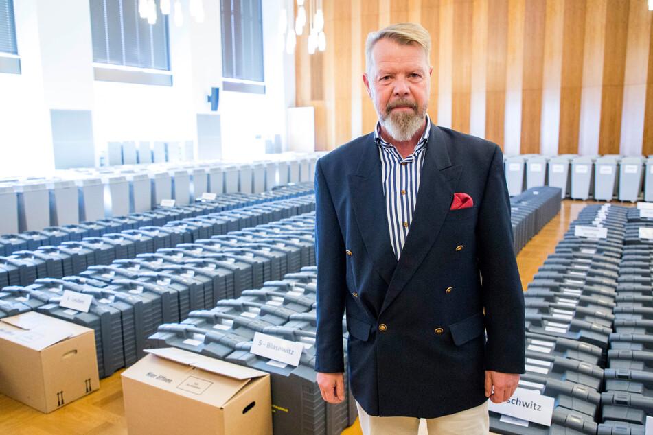 Der knapp unterlegende AfD-Kandidat Andreas Harlaß (59).