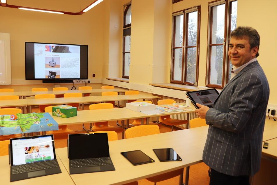 So macht Stollberg seine Lehrer digital fit