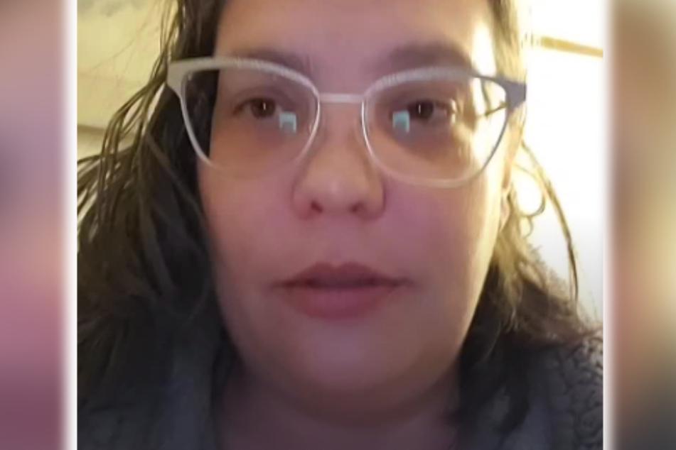 TikTok-Nutzerin thebeardedmom (42) erfuhr durch Zufall, dass sie als Kind als vermisst gemeldet worden war.