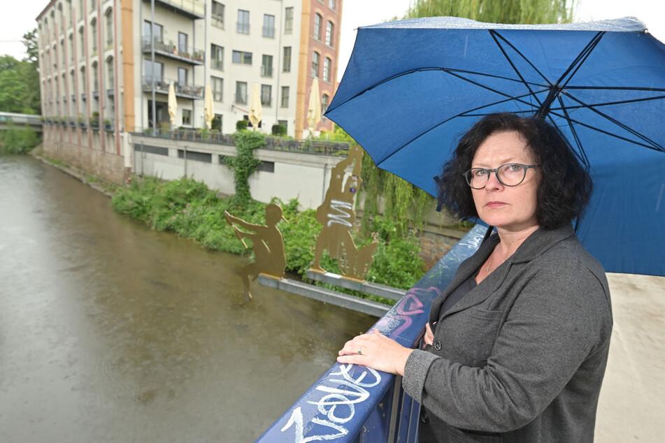 Manuela Tschök-Engelhardt (53, Grüne) sorgt sich bei einem extremen Unwetter um die Sicherheit der Chemnitzer.