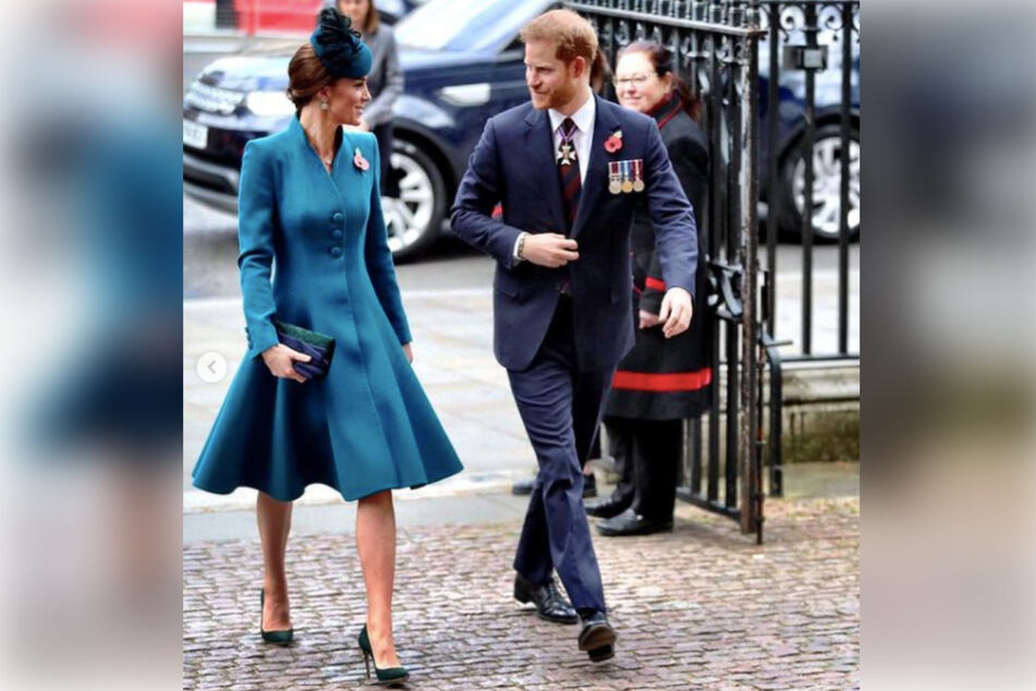 It is not known how well Kate Middleton (l) and Prince Harry get along behind closed doors.